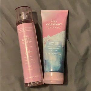 Pink Coconut Calypse B&BW